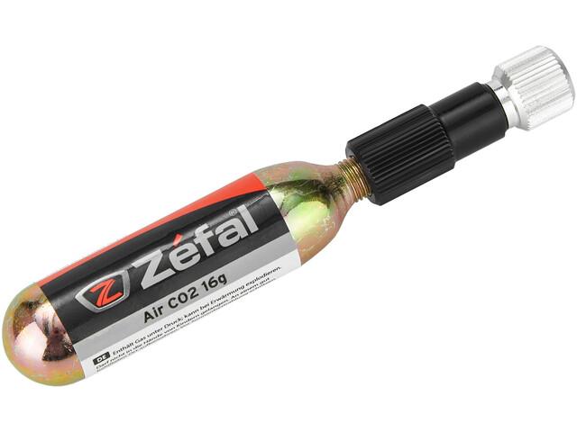Zefal EZ CO2 Kit pompa con funzione di dosaggio per Schrader/Presta